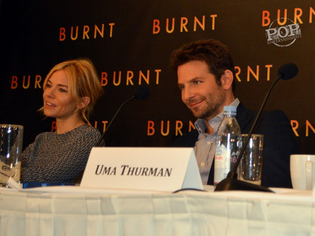 Bradley Cooper, Sienna Miller, Daniel Brühl, Uma Thurman, Sam Keeley and Mario Batali – Burnt