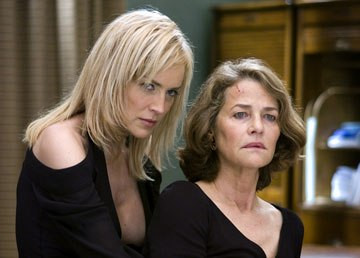 Sharon Stone and Charlotte Rampling in Basic Instinct 2