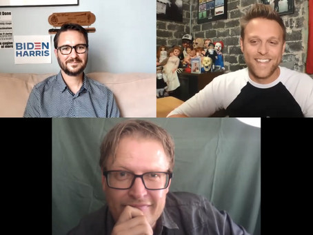 Wil Wheaton, Brian Landis Folkins and Jon Stevenson - Hanging Out with Their Rent-A-Pal