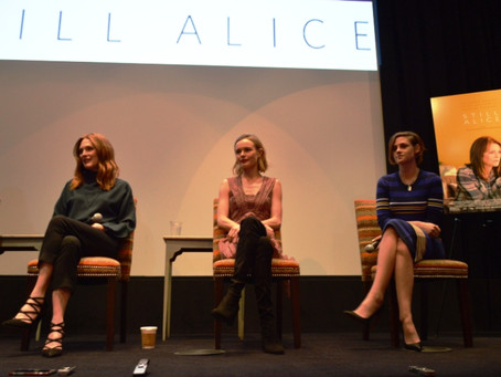 Julianne Moore, Kristen Stewart, Kate Bosworth, Lisa Genova & Wash Westmoreland Stare Down a Deb