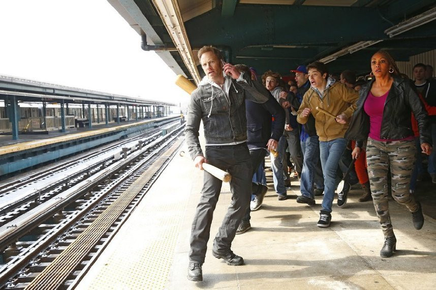 """Ian Ziering and Vivica Fox star in """"Sharknado 2: The Second One."""""""