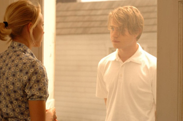 """Naomi Watts and Brady Corbet in """"Funny Games."""""""