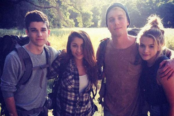 Sean O'Donnell, Andrea Russett, Lukas Gage and Laine Neil in Sickhouse