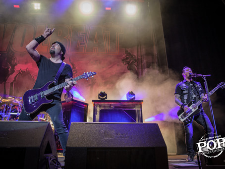 Volbeat – Ford Amphitheater at Coney Island Boardwalk – Coney Island, NY – August 8, 2016 (A PopEnte
