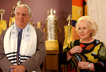 "Garry Marshall & Doris Roberts in ""Keeping Up With the Steins."""