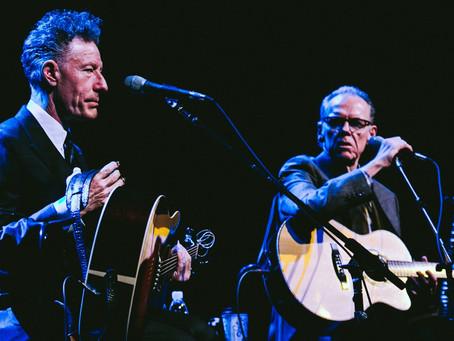 Lyle Lovett and John Hiatt – Scottish Rite Auditorium – Collingswood, New Jersey – January 26, 2017