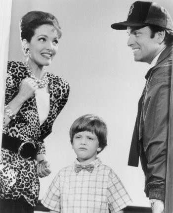 """Amy Yasbeck and John Ritter in """"Problem Child."""""""