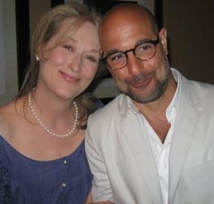 Bon Appetit with Oscar-nominees Meryl Streep & Stanley Tucci