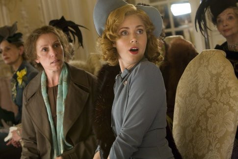 "Frances McDormand and Amy Adams star in ""Miss Pettigrew Lives For a Day."""