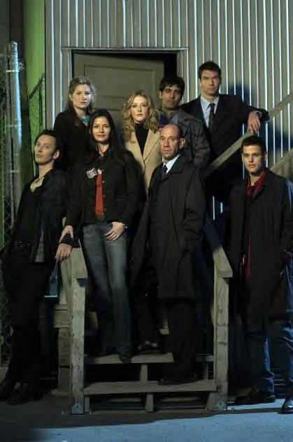 The cast of Crossing Jordan