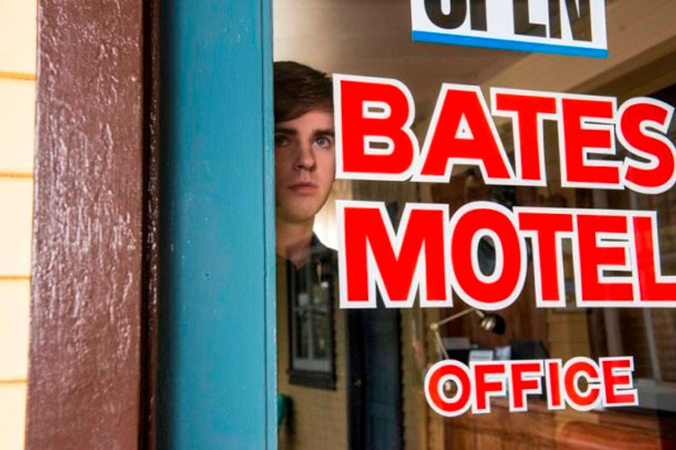 Freddie Highmore stars in Bates Motel