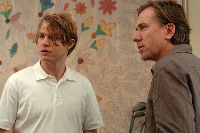 """Brady Corbet and Tim Roth in """"Funny Games."""""""
