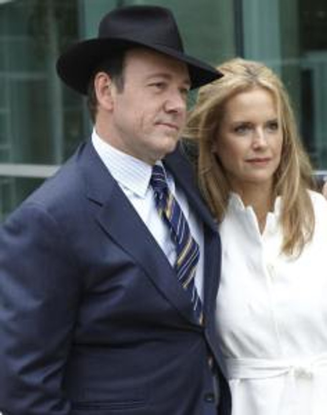 """Kevin Spacey and Kelly Preston in """"Casino Jack."""""""