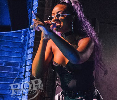 Justine Skye – Voltage Lounge – Philadelphia, PA – March 22, 2018 (A PopEntertainment.com Concert Ph