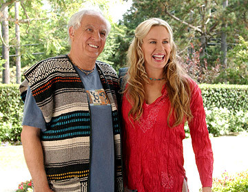 "Garry Marshall & Daryl Hannah in ""Keeping Up With the Steins."""