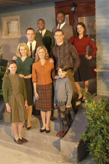 """Tom Verica and the cast of """"American Dreams."""""""