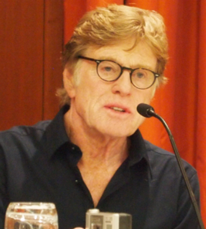 """Robert Redford at the NY Press Conference for """"The Company You Keep"""" at Le Parker-Meridien Hotel, April 1, 2013."""