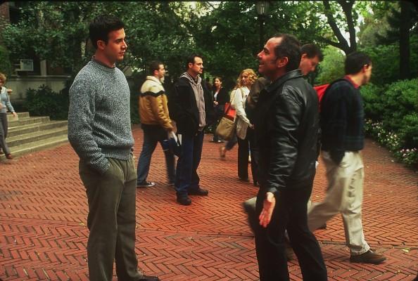 "Freddie Prinze, Jr. and Michael Corrente  making ""Brooklyn Rules."""