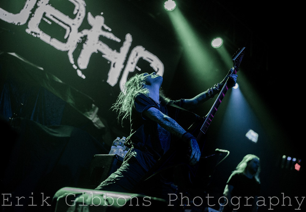 Children of Bodom - Electric Factory – Philadelphia, PA – March 20, 2016 - Photo by Erik Gibbons © 2016