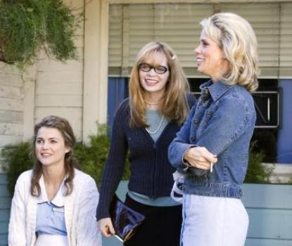"""Keri Russell, Adrienne Shelly and Cheryl Hines in """"Waitress."""""""