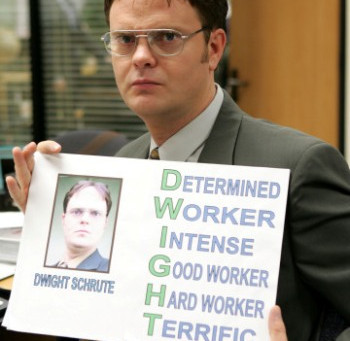 Rainn Wilson – Trying Harder in The Office