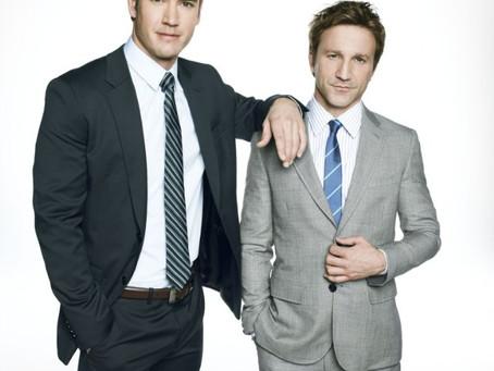 Mark-Paul Gosselaar and Breckin Meyer – Having Fun with the Law