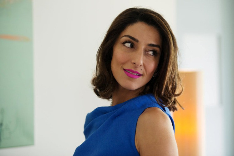 """GIRLFRIENDS' GUIDE TO DIVORCE --  """"Rule #77: Don't Blow the Bubble"""" Episode 202 -- Pictured: Necar Zadegan as Delia -- (Photo by: Diyah Perah/Bravo)"""