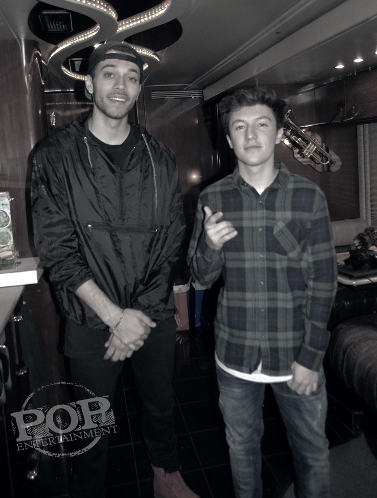 Kalin & Myles at the Electric Factory in Philadelphia. Photo copyright 2015 Deborah Wagner.