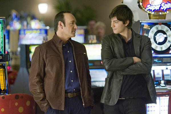 """Jim Sturgess and Kevin Spacey star in """"21."""""""