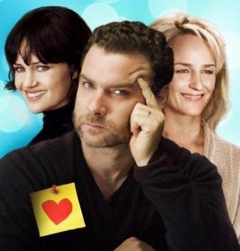 "Carla Gugino, Liev Schreiber and Helen Hunt in ""Every Day."""