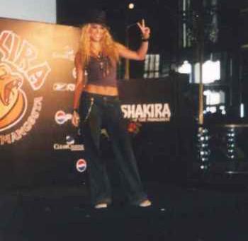 Shakira – Tour Service