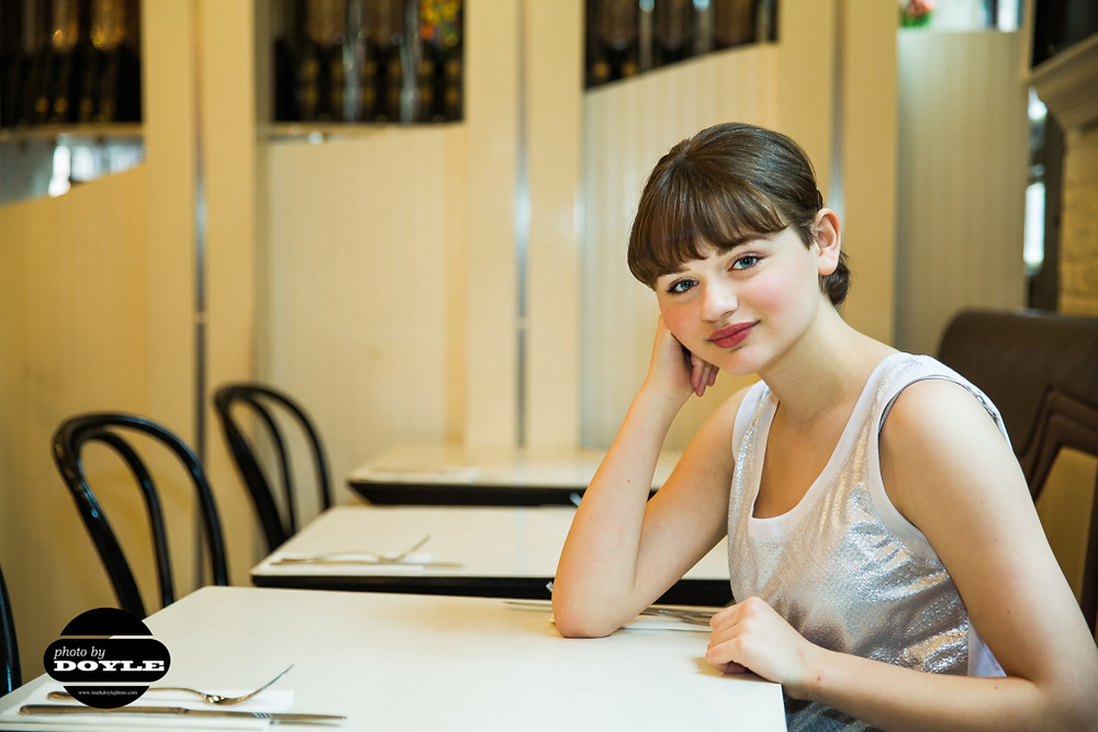 Joey King in New York City.  Photo © 2014 Mark Doyle. All rights reserved.