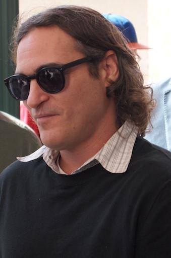 Joaquin Phoenix at the NYFF screening of 'Her.'