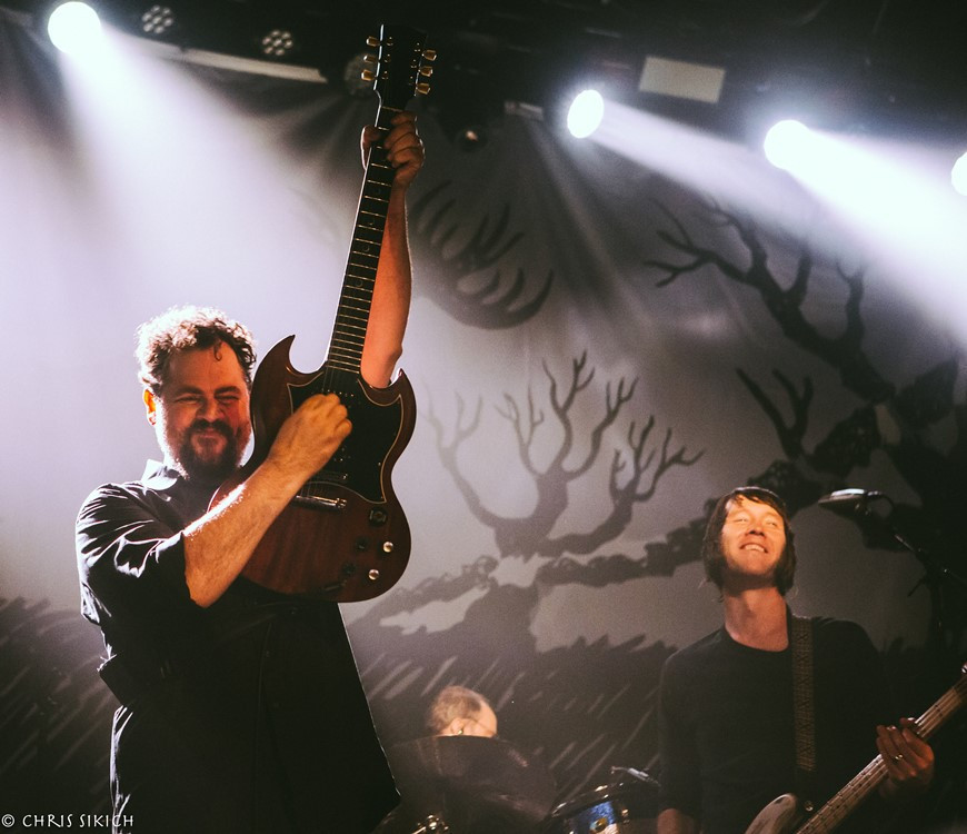 Drive-By Truckers perform at Union Transfer on Nov. 9.