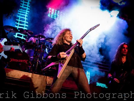 Megadeth, Suicidal Tendencies, Children of Bodom & Havok – Electric Factory – Philadelphia