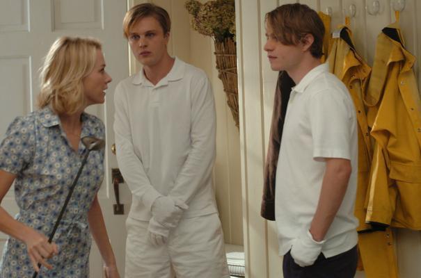 "Naomi Watts, Michael Pitt and Brady Corbet in ""Funny Games."""