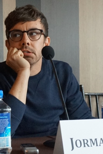 """Jorma Taccone at the NY press day for """"Popstar: Never Stop Never Stopping."""""""
