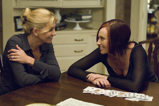 "Natasha Richardson and Toni Collette star in ""Evening."""