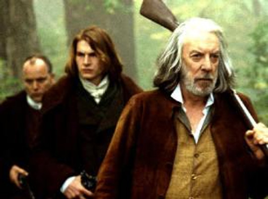 """Donald Sutherland in """"An American Haunting."""""""