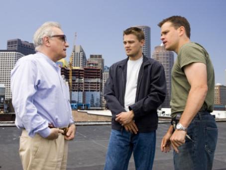 Martin Scorsese, Leonardo DiCaprio, Matt Damon, Vera Farmiga & William Monahan – Meeting w