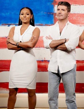 AMERICA'S GOT TALENT -- Season: 11 -- Pictured: (l-r) Mel B and Simon Cowell -- (Photo by: Art Streiber/NBC)