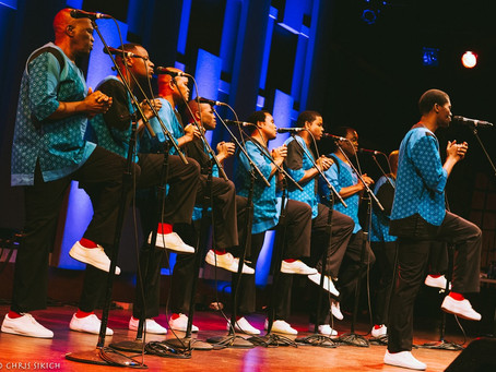 Ladysmith Black Mambazo – World Café Live – Philadelphia, PA – March 15, 2017  (A PopEntertainment.c