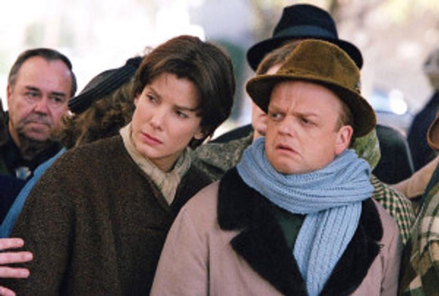 "Sandra Bullock and Toby Jones star in ""Infamous."""