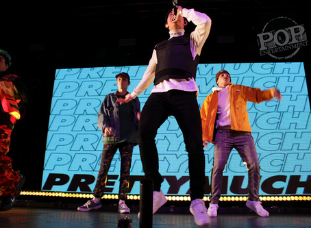 PRETTYMUCH &  Gunnar Gehl – Theater of the Living Arts – Philadelphia, PA – November 3, 2018 (A