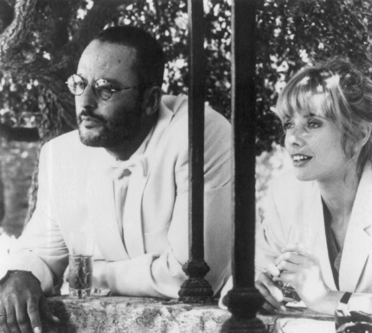 """Jean Reno and Rosanna Arquette in """"The Big Blue."""""""