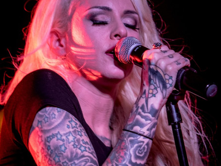 Stitched Up Heart & Letters from the Fire – The Marlin Room at Webster Hall – New York, NY – Feb