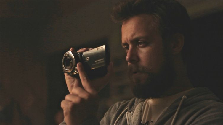 "Chris Osborn stars in ""Exists."""