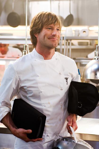 "Aaron Eckhart stars in ""No Reservations."""