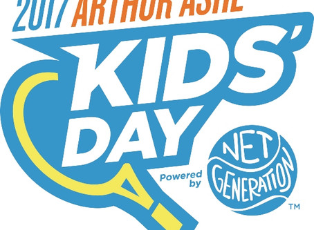 Interviews with the stars of Arthur Ashe Kids' Day