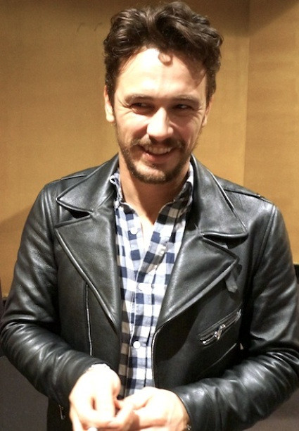 "James Franco at the New York Press Day for ""Child of God.""  Photo copyright 2014 Brad Balfour."
